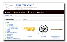 Billiard Coach Store